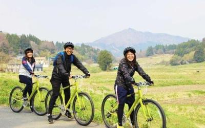 Cycling Around Minamisanriku-Tour for enjoying the mountain in Autumn.