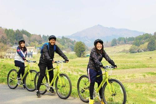 Cycling Around Minamisanriku-Tour for enjoying the mountain in Autumn.