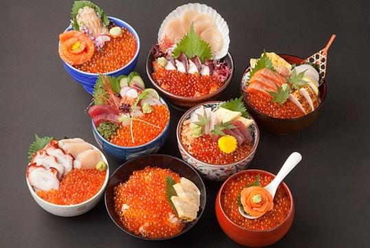 「キラキラいくら丼」提供スタートです!