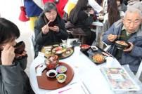 南三陸キラキラ春つげ丼試食
