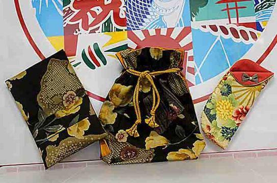 【平成の森】のおばあちゃん手製巾着セットとメガネケース