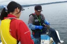 漁師を体感!刺し網漁体験