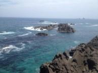 目の前には太平洋が広がり、リアス式海岸の美しい海岸美も一望できる