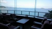 ホテル観洋から眺める海景色。
