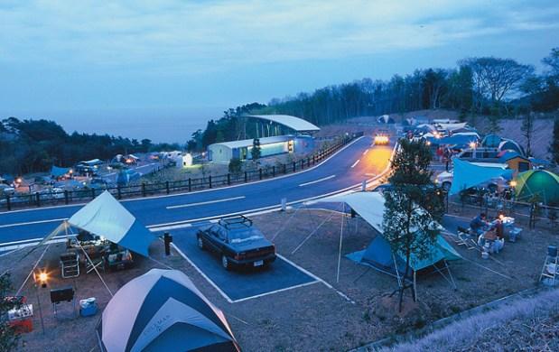 H29年度の神割崎キャンプ場の営業を開始しました! !