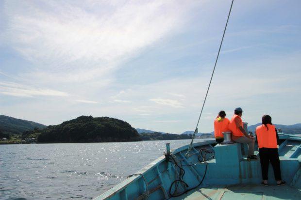 体験レポート【阿部さん夫婦の漁船に乗って船上体験!!】
