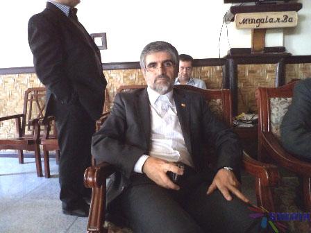 Iran emb Hossien Kamalian