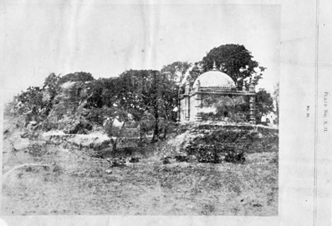 """Photo from """"Buddermokan, Report on the Antiquities of Arakan by Forchammer(1891)"""