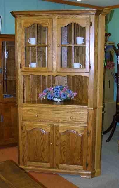 corner china cabinet canada  Home Decor