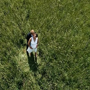 Wedding Drone Photography Reception Aerail Shot Bride Groome