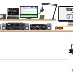 Amplifier Wiring Kit Radio Shack Individual Hair Extensions Placement Diagram Icom Get Free Image About