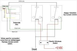 Wiring Diagram Ramsey 9000 Winch – powerkingco