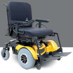 Quantum 600 Power Chair Red Leather Recliner Chairs M1medical Rehab Electric Wheelchairs By Pride