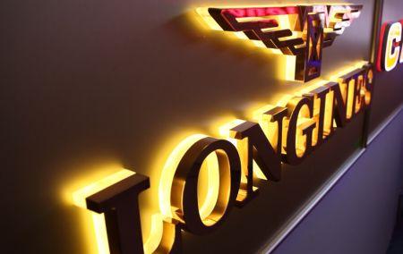 Colors Face Reverse Lit Letters Gold Black Bronze Metal