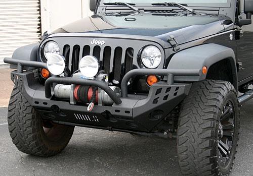 0715 Jeep Wrangler JK Aries Heavy Duty Front Bumper