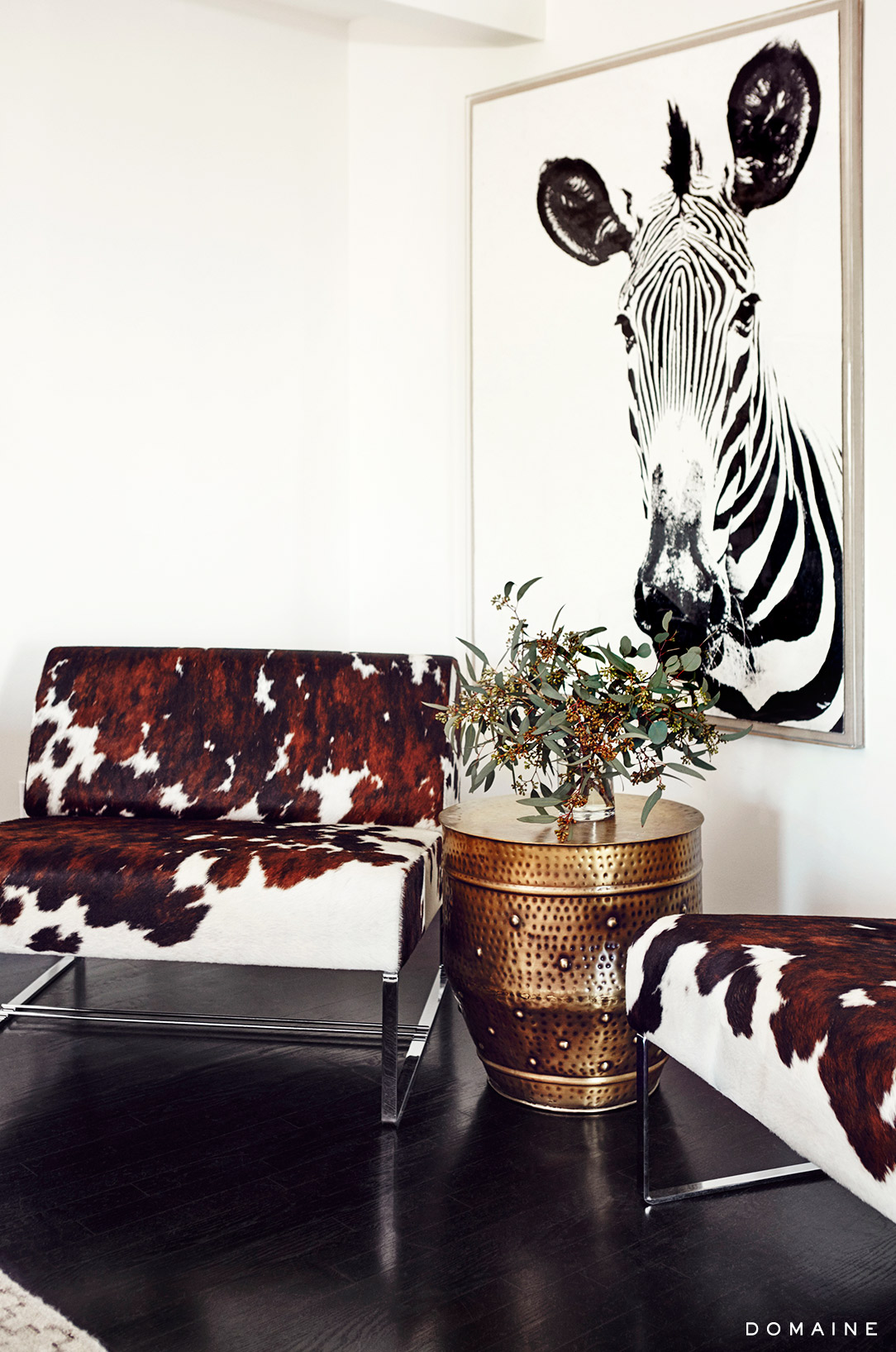 cowhide chairs nz directions to chair covers and linens fancy staying in jessica albas apartment