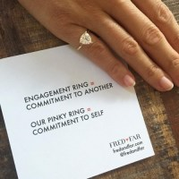 "New Self Love ""Pinky Promise"" Rings Empower Women"