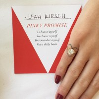 New Self Love Pinky Promise Rings Empower Women