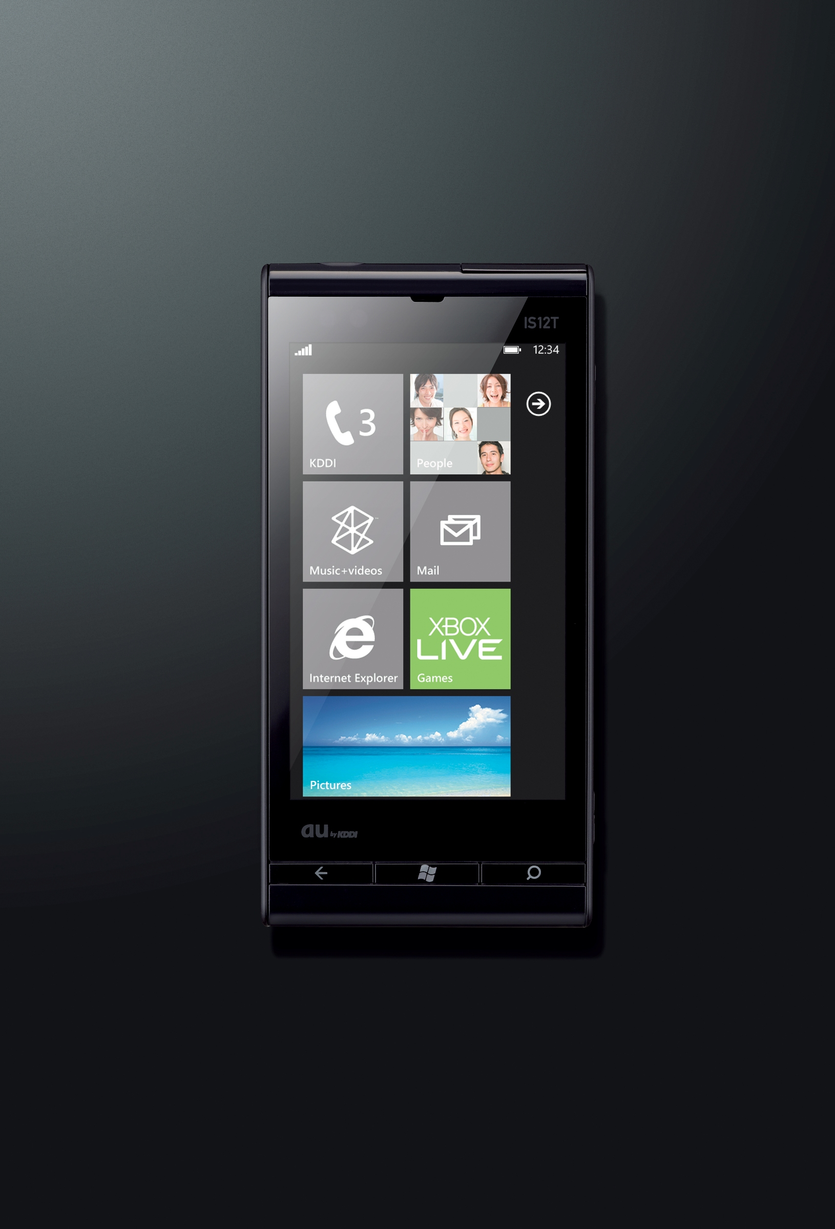 Fujitsu's first 'Mango' based Windows Phone 7 – IS12T ~