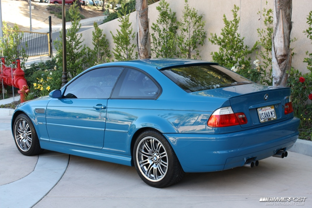 SolidSnake2634s 2001 BMW M3  BIMMERPOST Garage