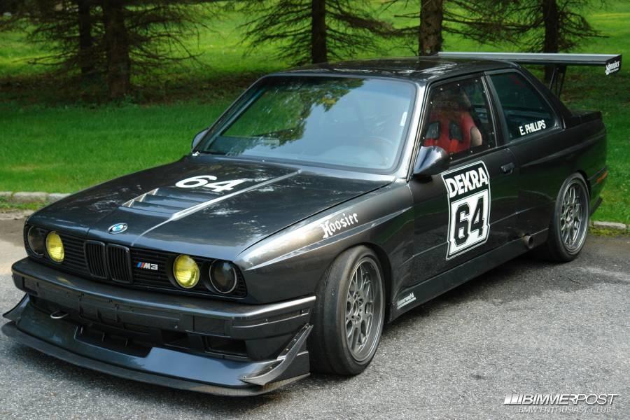 JustinOKCs 1990 BMW M3  BIMMERPOST Garage