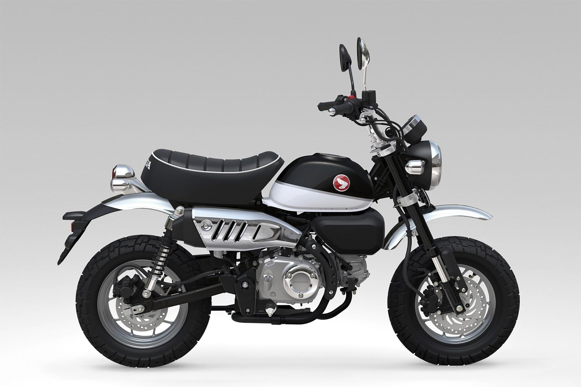 hight resolution of honda monkey 125cc