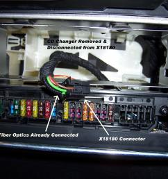 click image for larger version name 2b cd changer removed jpg views 32198 diy ipod most adapter install  [ 2576 x 1932 Pixel ]