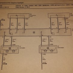 Bmw E60 Headlight Wiring Diagram 1986 Toyota Mr2 Radio Pre Lci Diagrams Inside M5 Forum And M6 Forums