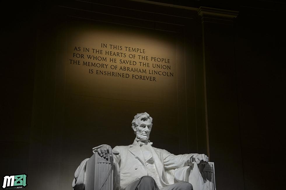 Abe Lincoln Memorial Washington D.C.