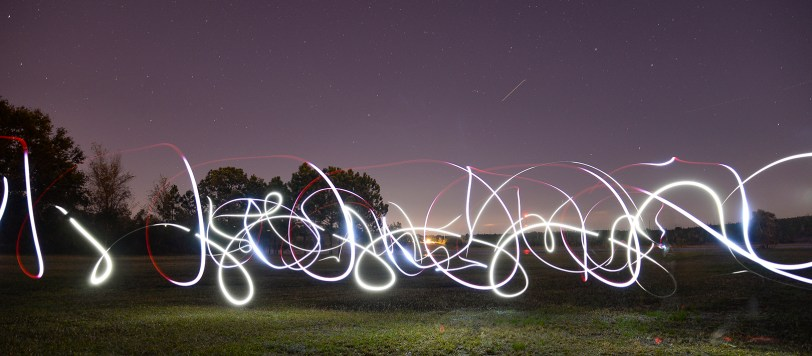 Florida Light Trails