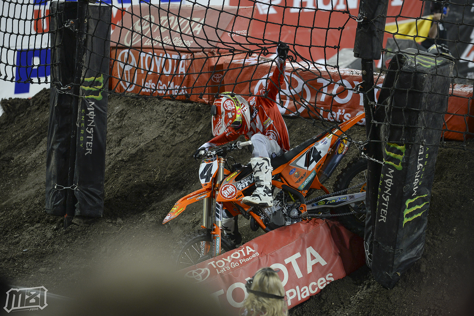 Blake Baggett Catch Fence