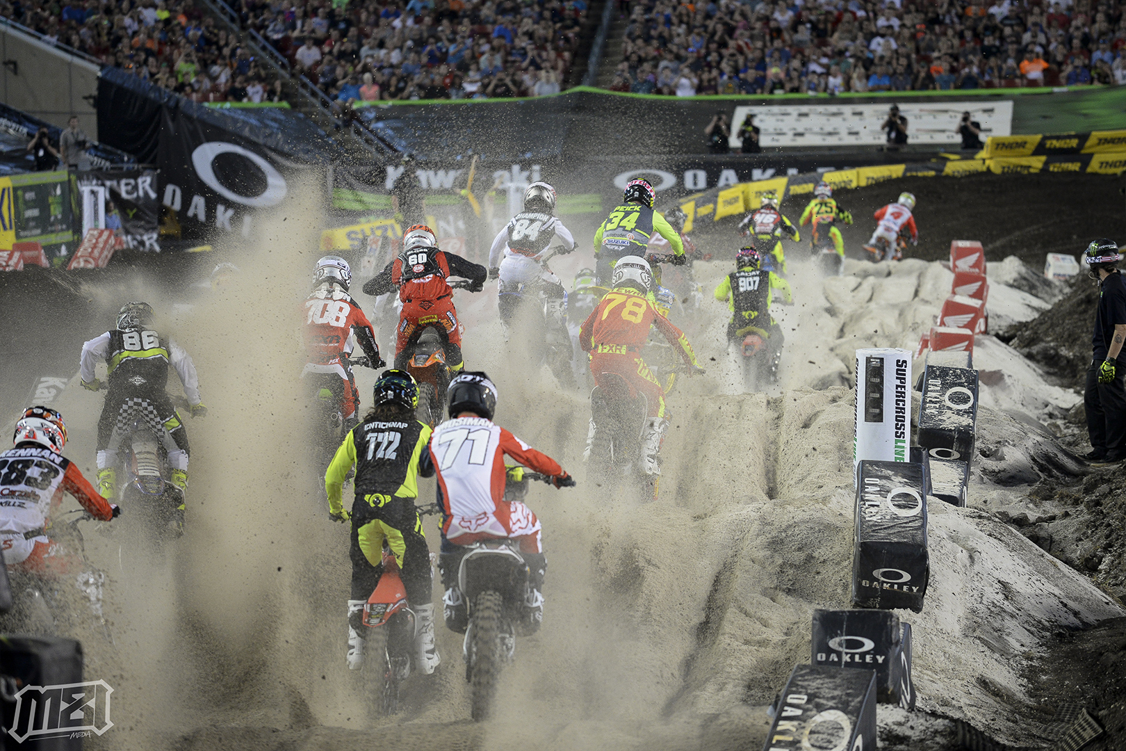 Tampa Supercross Sand Section Madness