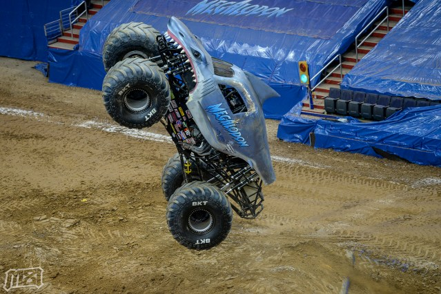 Monster Jam in Washington D.C. Verizon Center - Megalodon Monster Truck