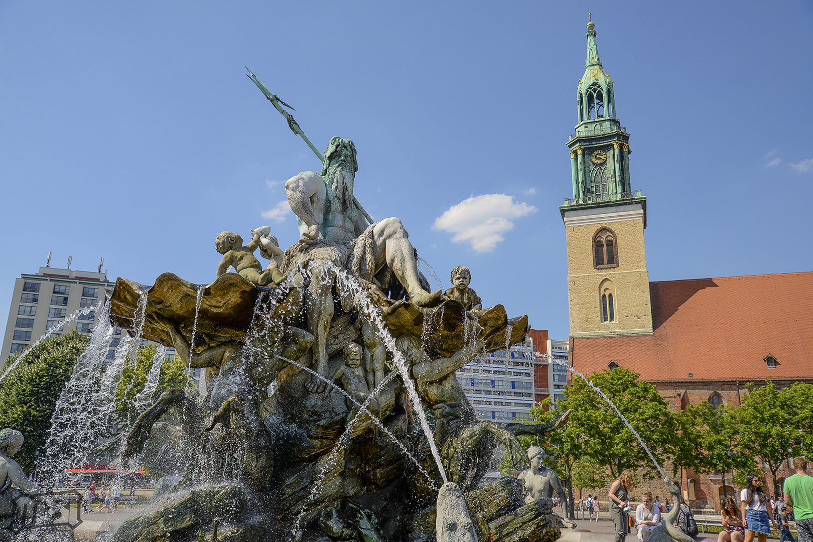 Zues Fountain