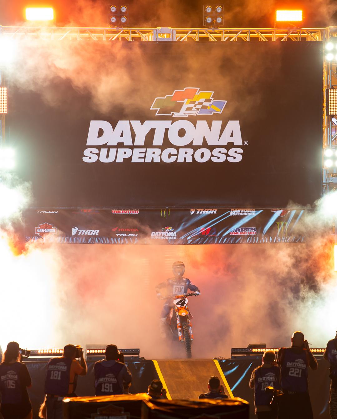 Blake Baggett Daytona Supercross