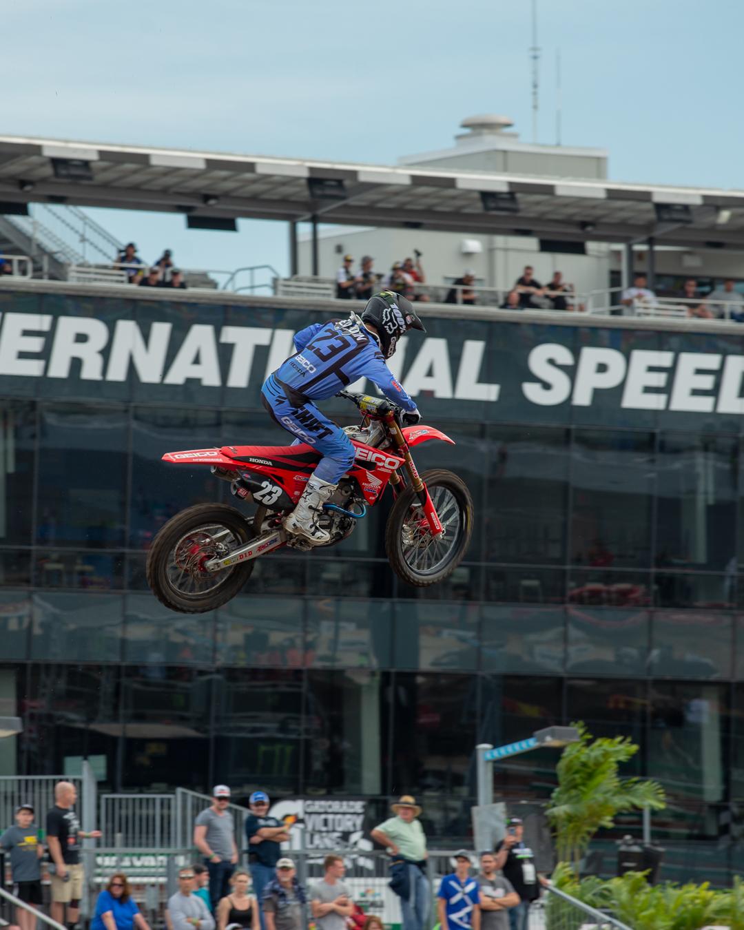 Chase Sexton Daytona Supercross