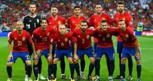 ทีมเต็งฟุตบอลโลก 2018 เสปน อันดับ 3