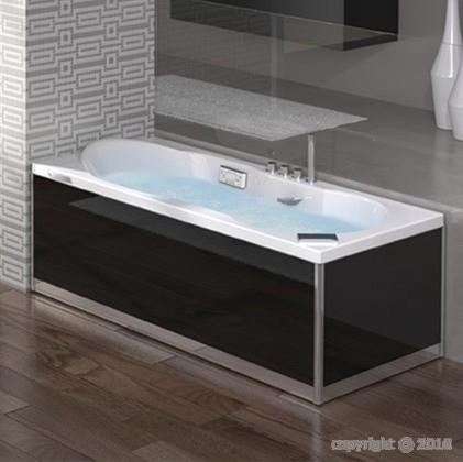 baignoire balneo rectangle grandform romenza 170x70
