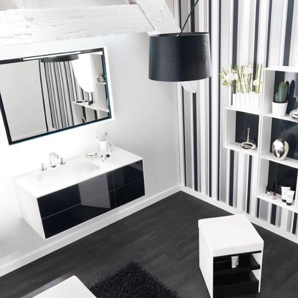Meubles vasque de salle de bain  Kito  105cmx50cm