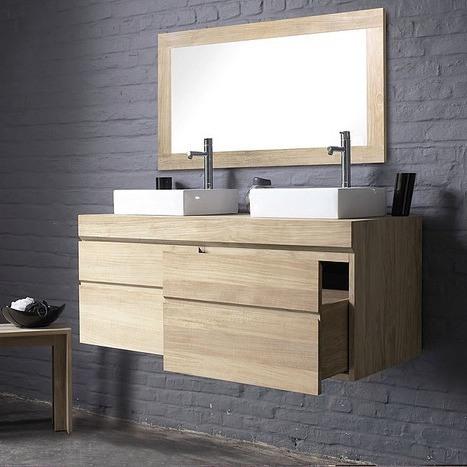 Meuble de salle de bain UrBan deux tiroirs