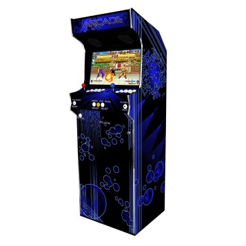 Borne Arcade Classic Profil Droit Modèle Deep Blue ma-borne-arcade.fr