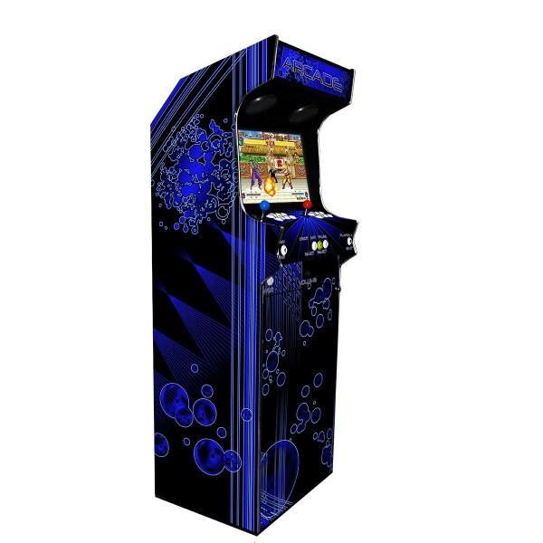 Borne Arcade Classic Profil Gauche Modèle Deep Blue ma-borne-arcade.fr