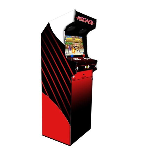 Borne Arcade Classic Profil Gauche Modèle Alchemy ma-borne-arcade.fr