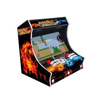 Borne Bartop Double Dragon Côté Gauche ma-borne-arcade.fr