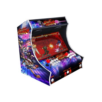 Borne Bartop Street Fighter Côté Gauche ma-borne-arcade.fr