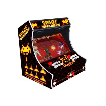 Borne Bartop Space Invaders Côté Gauche ma-borne-arcade.fr