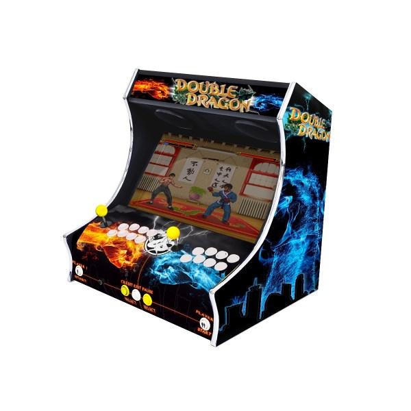 Borne Bartop Double Dragon Côté Droit ma-borne-arcade.fr