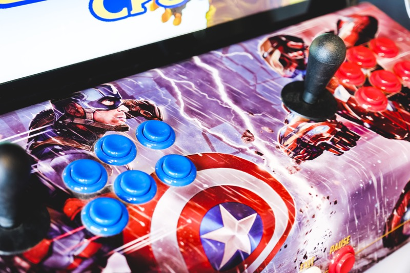 Personnalisation Bornes d'Arcade Vente en France ma-borne-arcade.fr