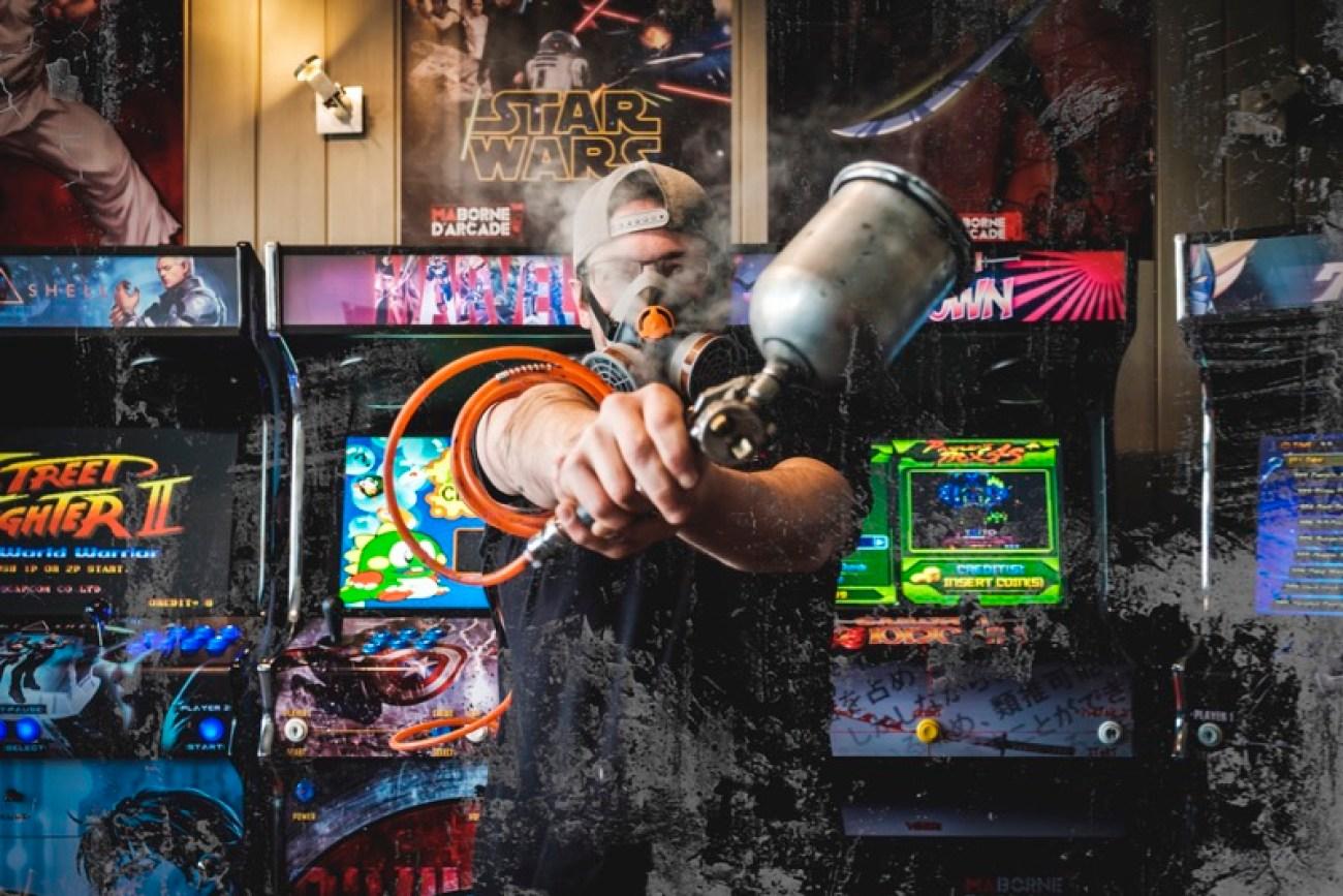Equipe Bornes d'Arcade Vente en France ma-borne-arcade.fr