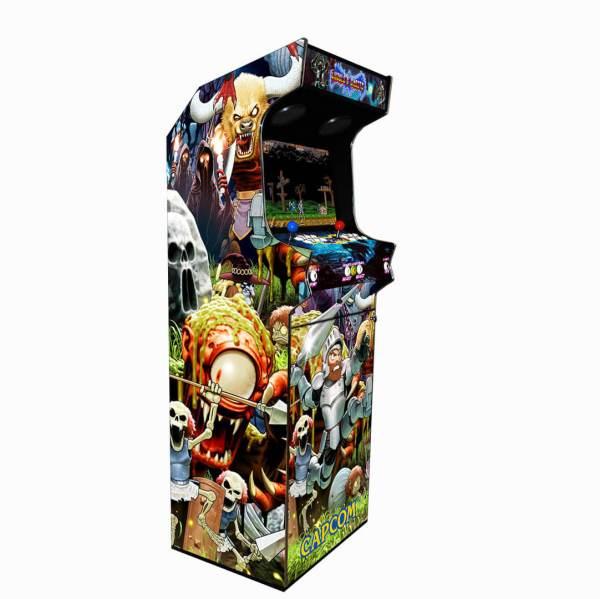 Borne Arcade Classic Profil Gauche Modèle Ghoul ma-borne-arcade.fr